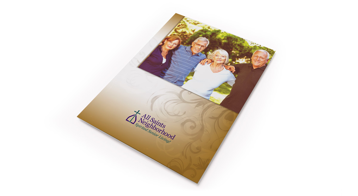 All Saints Brochure Design - 1