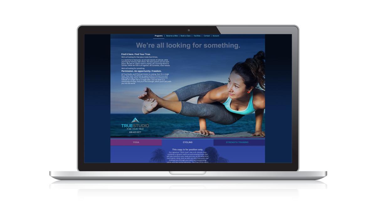 TRUE Studio - Website Design