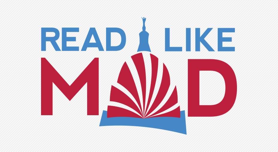 Read Like Mad, Madison WI, Color Logo