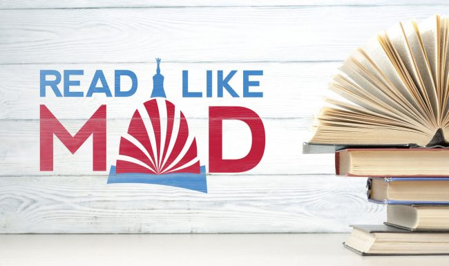 Read Like Mad, Madison WI, Logo Mocked-Up
