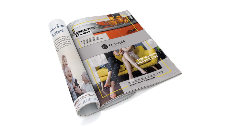 Nonn's 2017 Print Advertising