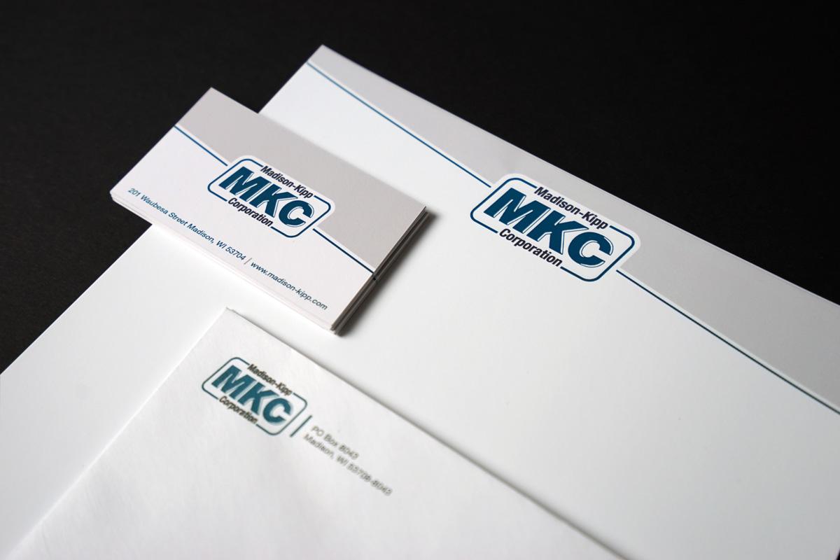 Madison-Kipp Corporation - Letterhead Graphic Design