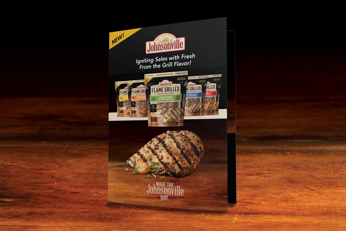 Johnsonville Sales Collateral Design