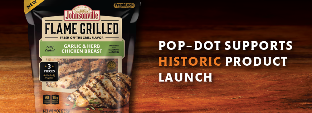 Pop-Dot Supports Historic Product Launch
