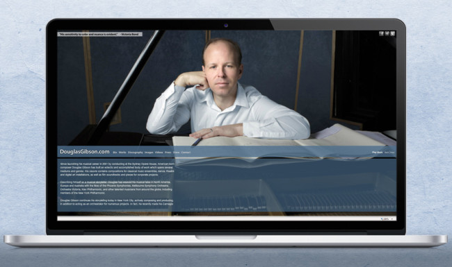 Douglas Gibson - Personal Branding and Website Design