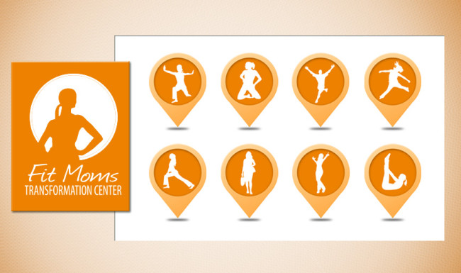 Fit Moms Transformation Center - Programs Branding