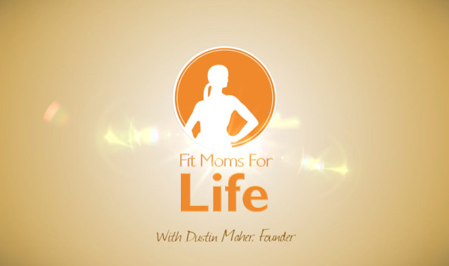 Logo Design Video Sting - Fit Moms For Life