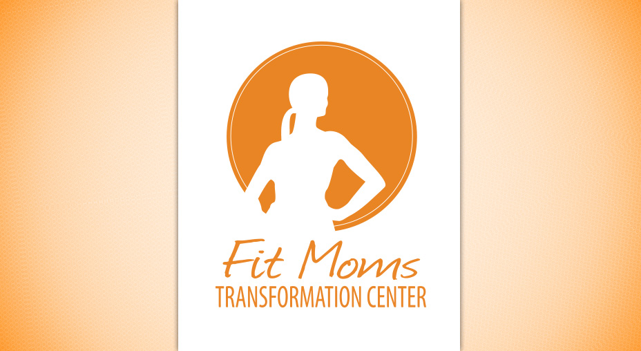 Fit Moms Transformation Center Logo Design - Brand Identity