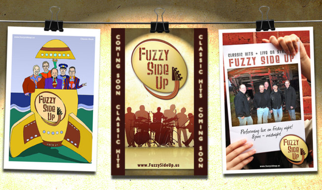 Fuzzy Side Up - Poster Designs