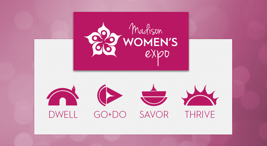 Madison Women's Expo Pavilion Icons - Branding
