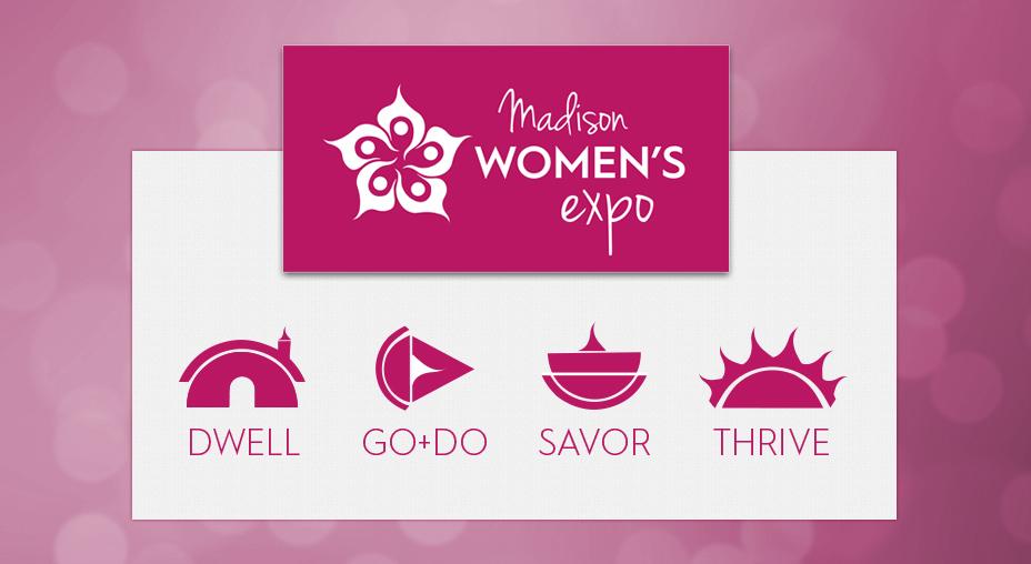 Madison Women's Expo Pavilion Icons - Branding