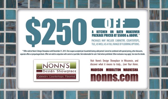 Promotional Advertising - Coupon Graphic Design - Nonn's Design Showplace