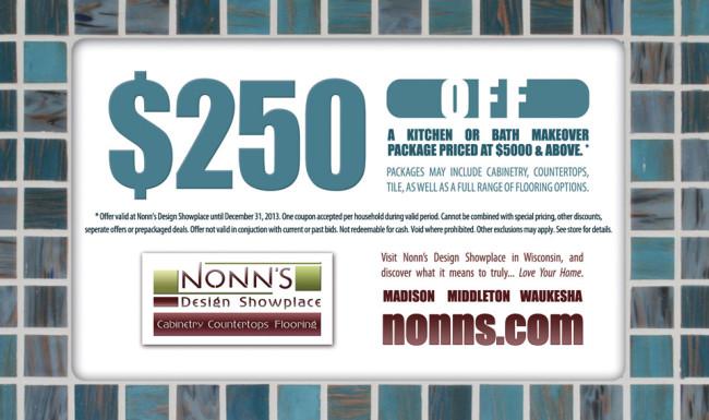 Promotional Advertising - Coupon Graphic Design - Nonn's Design Showplace
