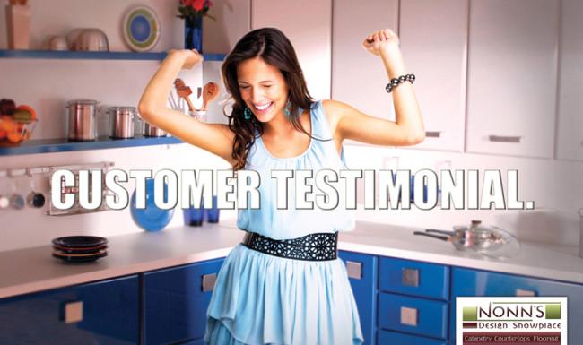 Promotional Advertising - Customer Testimonial - Nonn's Design Showplace
