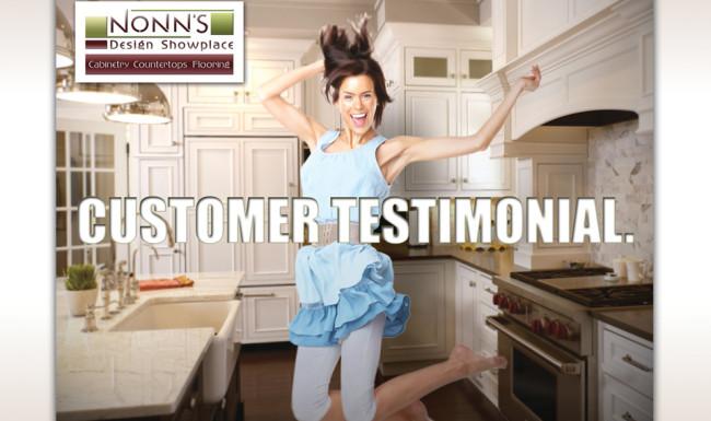Print Advertising Promotional - Nonn's Design Showplace