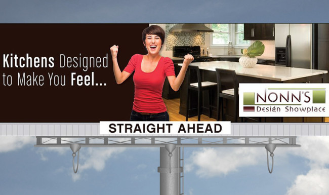 Nonn's Design Showplace - Billboard Advertising