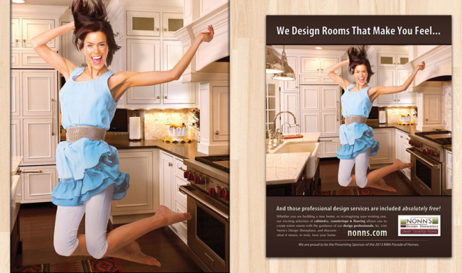 Print Advertising - Parade of Homes Plan Book - Nonn's