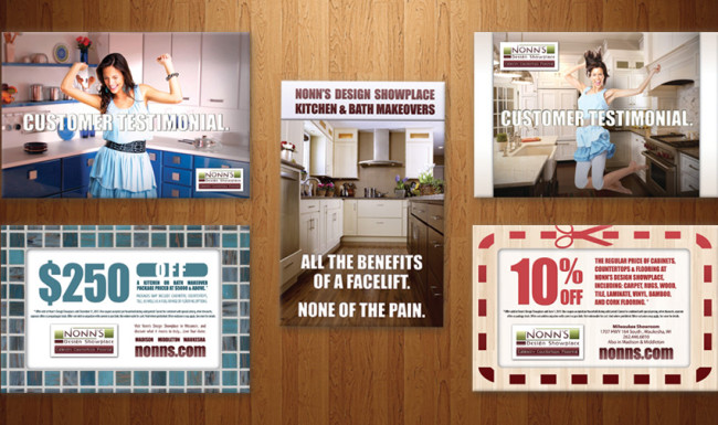 Promotional Advertising Campaign - Nonn's Design Showplace