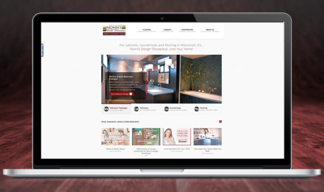 Nonn's Design Showplace - Website Design