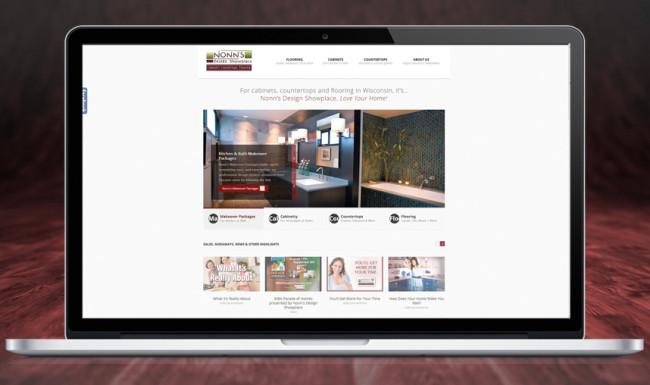 Nonn's Design Showplace - Website Design