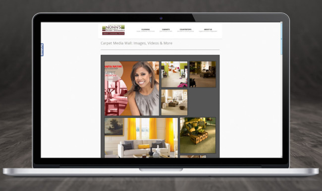 Website Design Nonn's Design Showplace