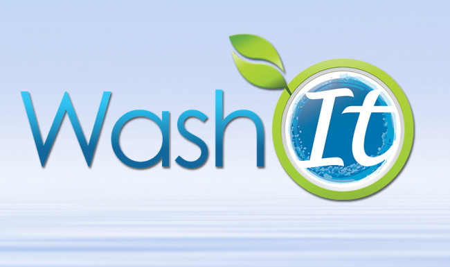 Wash It Logo Design - Brand Identity