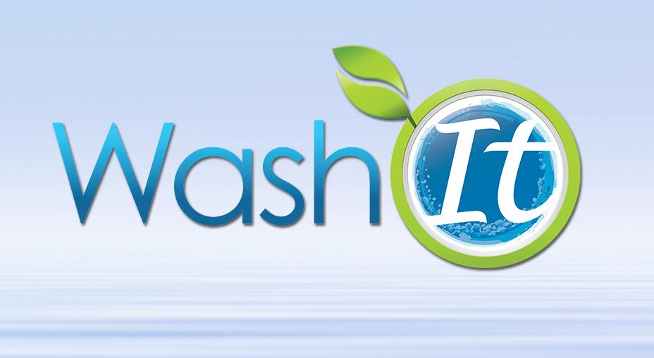 Wash It Logo Design - Brand Identity