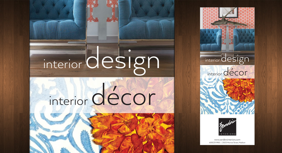Print Advertising Zander's Interiors