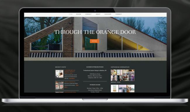 Branding & Website Design Zander's Interiors