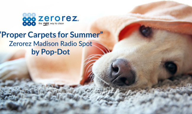 Zerorez Radio Ad - Proper Carpets For Summer