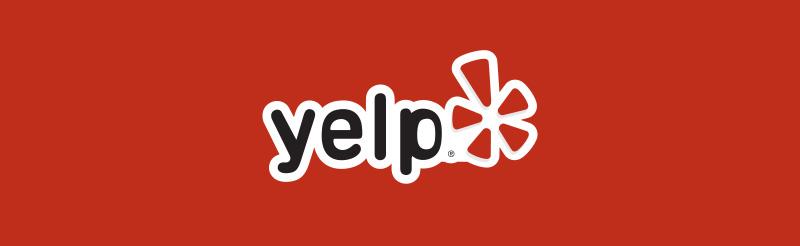 Yelp Logo Banner