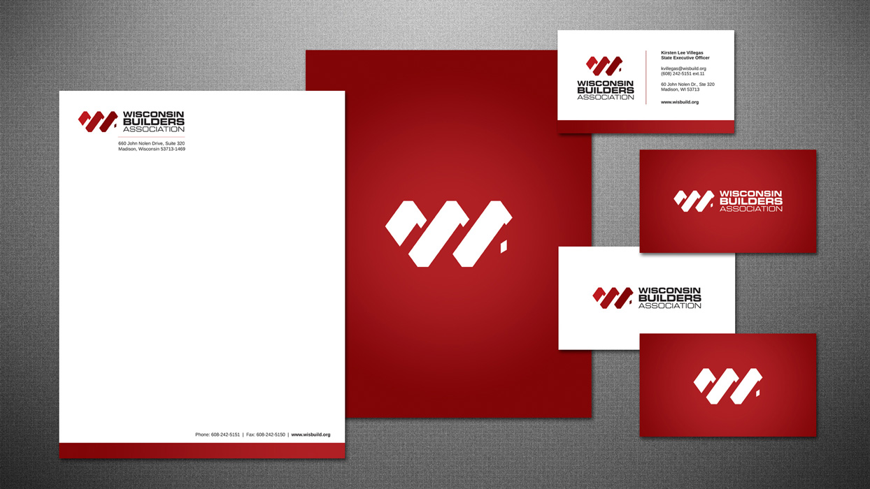 Branding & Collateral Design - Wisconsin Builders Association
