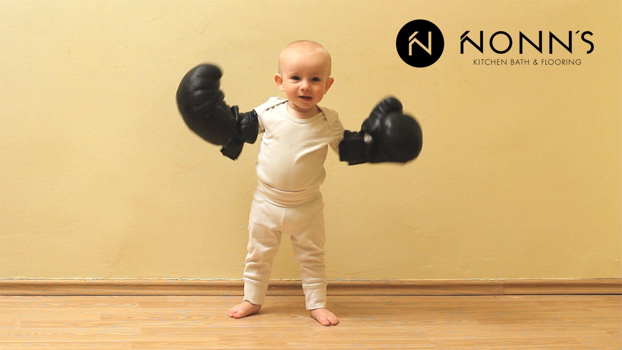 Television Advertising - Delightful Surprise: Baby and Boxing Gloves Nonn's