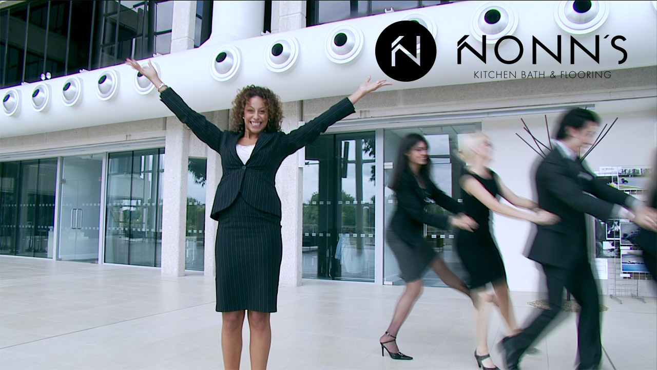 Television Advertising - Delightful Surprise: Businesspeople and Dancing Nonn's