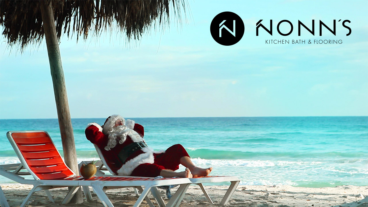 Television Advertising - Delightful Surprise: Santa and the Beach - Nonn's