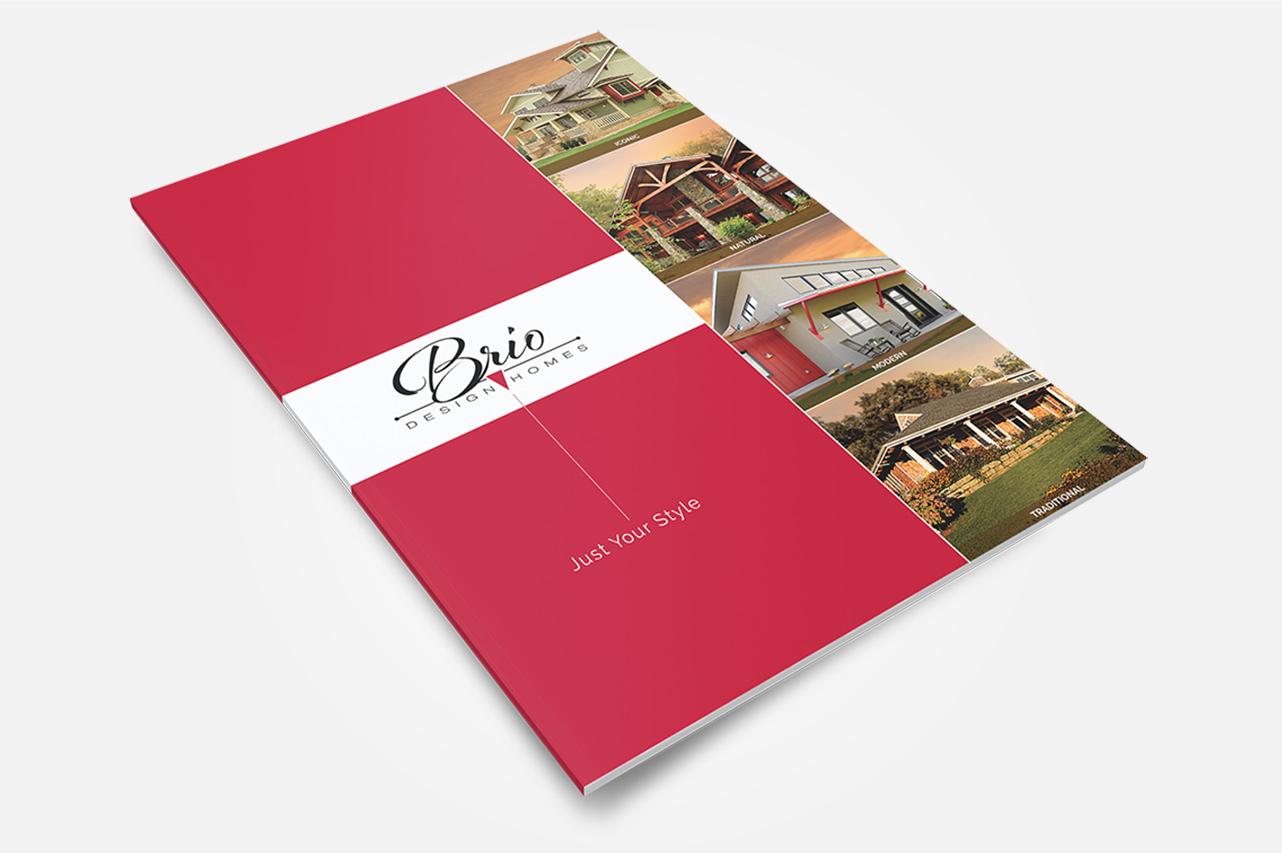 Brio Collateral Marketing: Brochure Design, Cover
