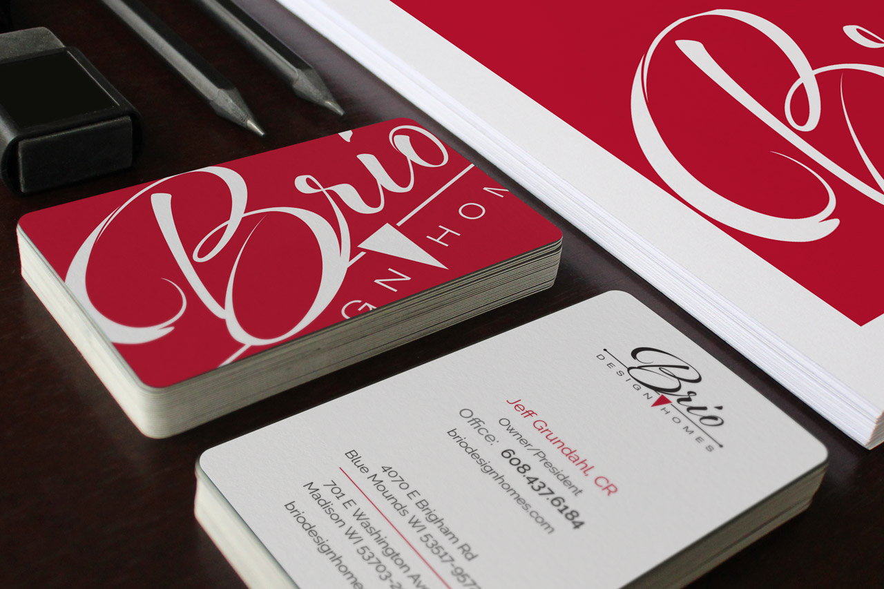 Brio Marketing Material: Business Card Design