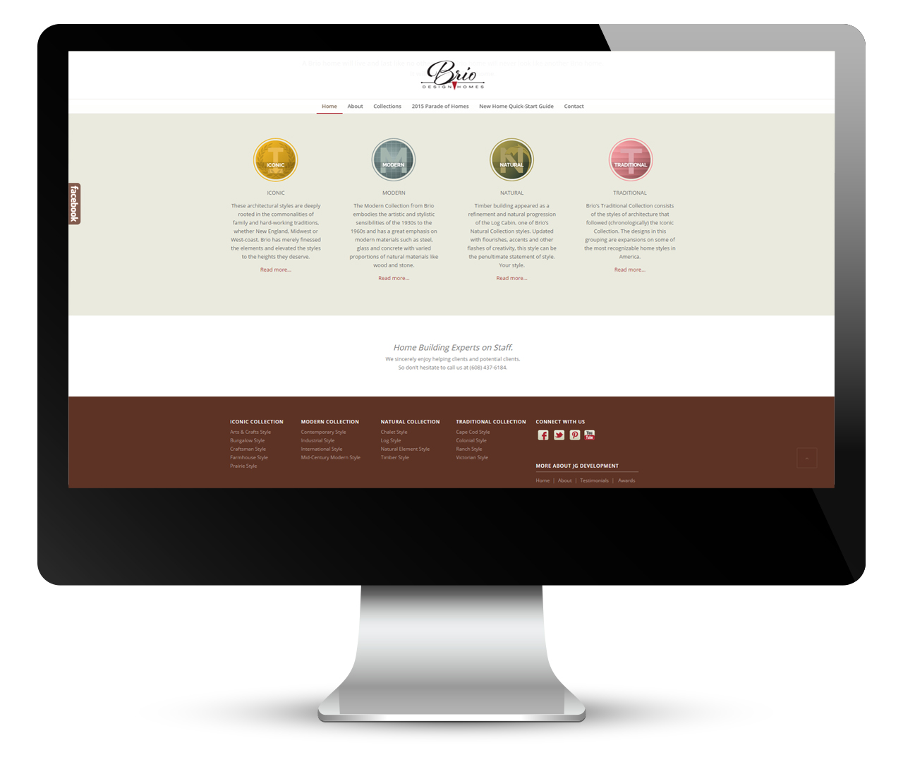 Website Design by Pop-Dot Marketing Agency in Madison, WI | Brio