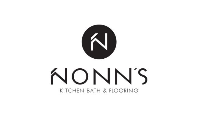 Nonn's - Logo Design - Vertical Black Feature