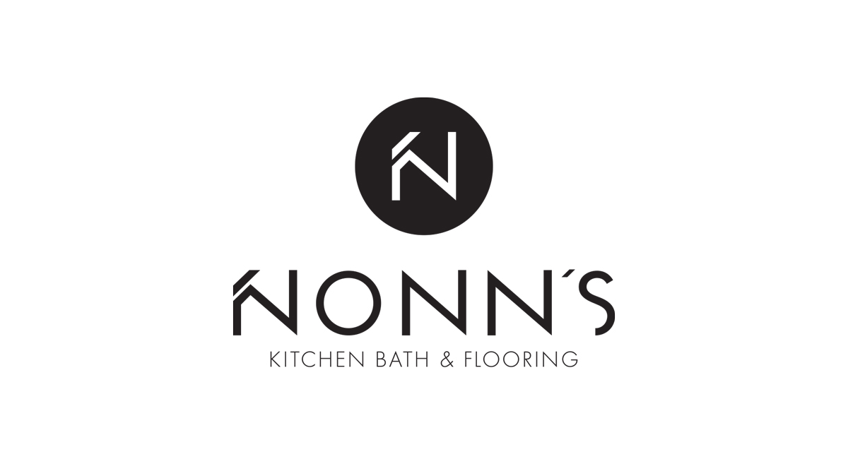 Nonn's - Logo Design - Vertical Black Feature