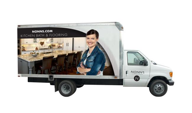 Nonn's Vehicle Branding - Truck Wrap Design 1