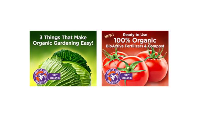 Purple Cow Organics Digital Campaign Feature Alt