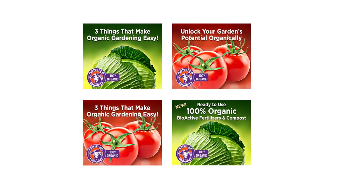 Purple Cow Organics - Digital Campaign Banners 3