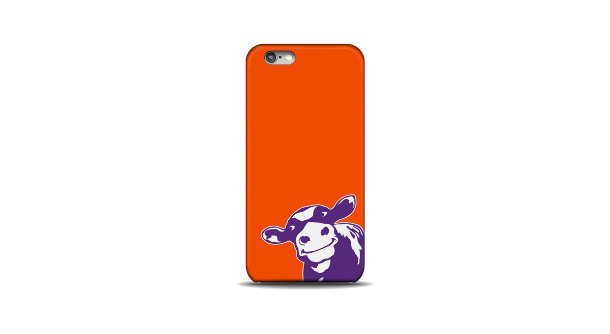 Purple Cow Organics - Phone Case Design
