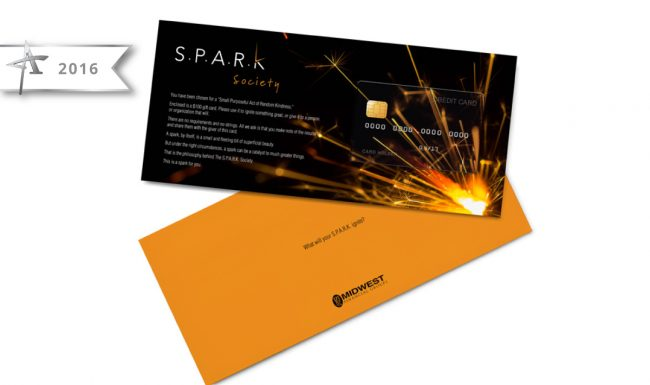 Card Graphic Design - SPARK Society - 2016 American Advertising Award Winner