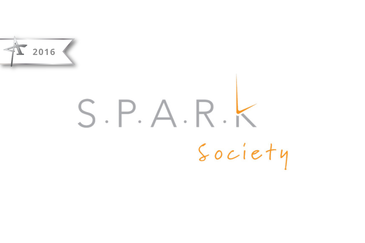 Logo Design Spark Society - 2016 American Advertising Award Winner