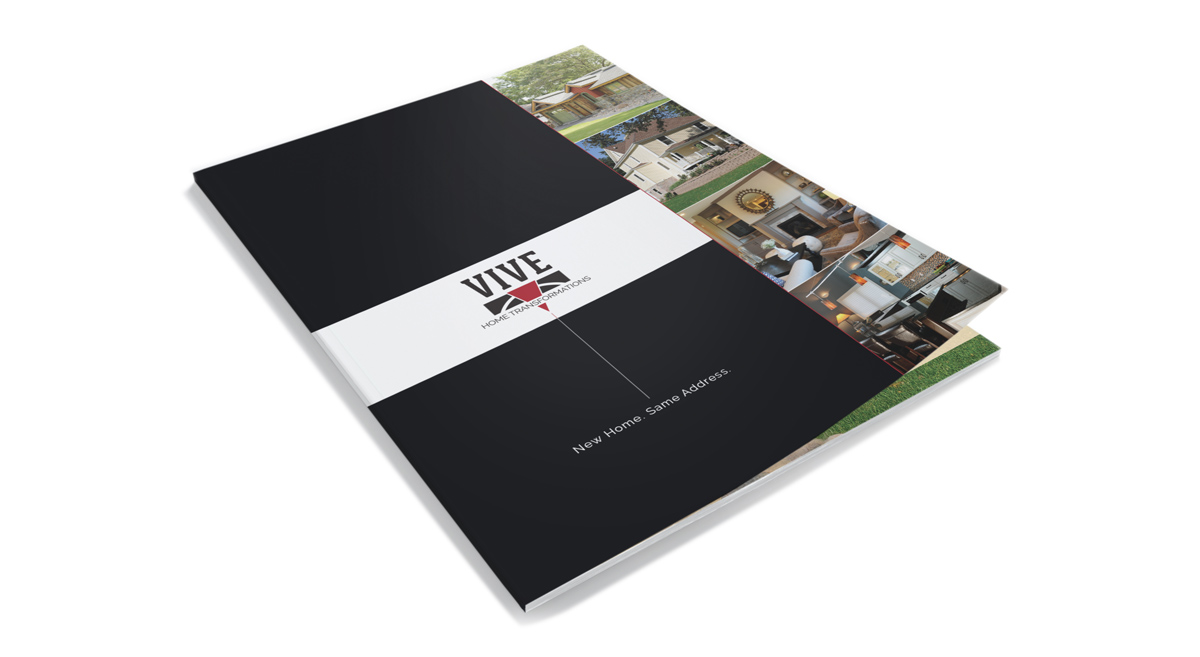 Vive Home Transformations - Brochure Cover