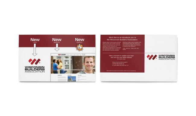 Wisconsin Builders Association - Direct Mailer 1