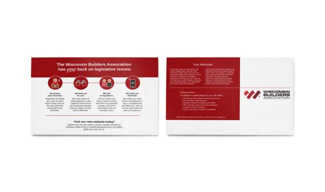 Wisconsin Builders Association - Direct Mailer 2