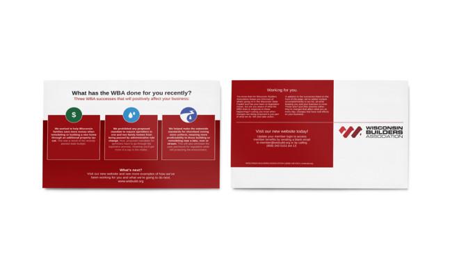 Wisconsin Builders Association - Direct Mailer 3